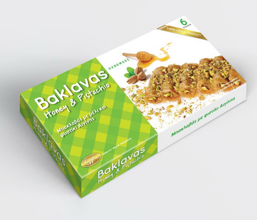 Baklavas honey & pistachio