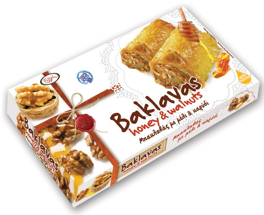 Baklavas honey & walnuts
