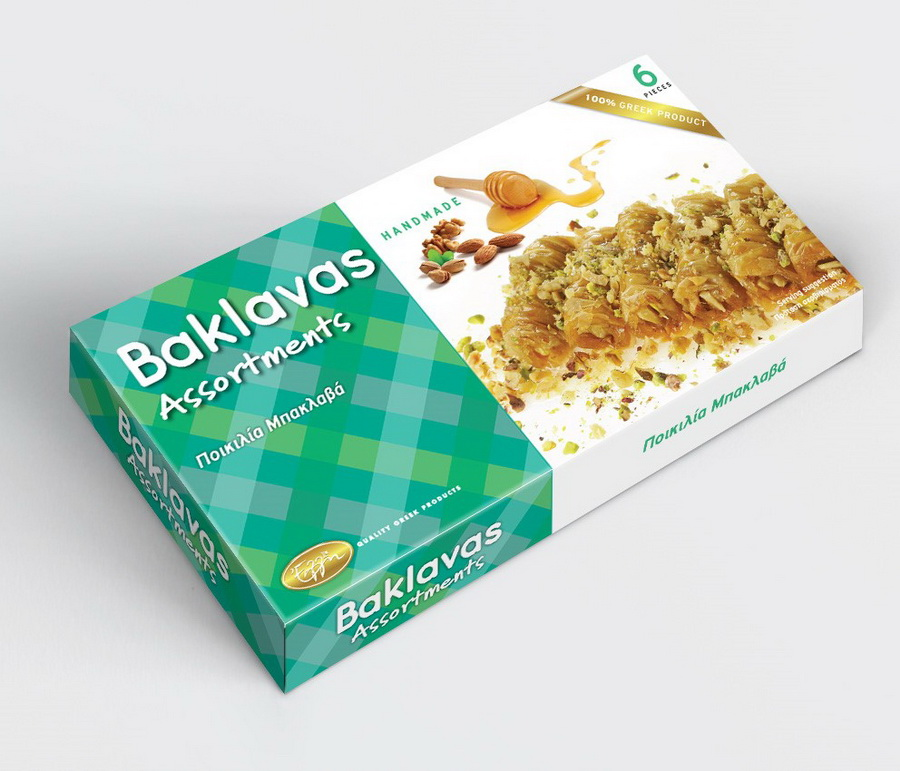 Baklavas assortments