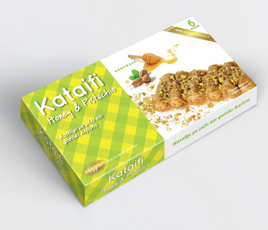 Kataifi honey & pistachio