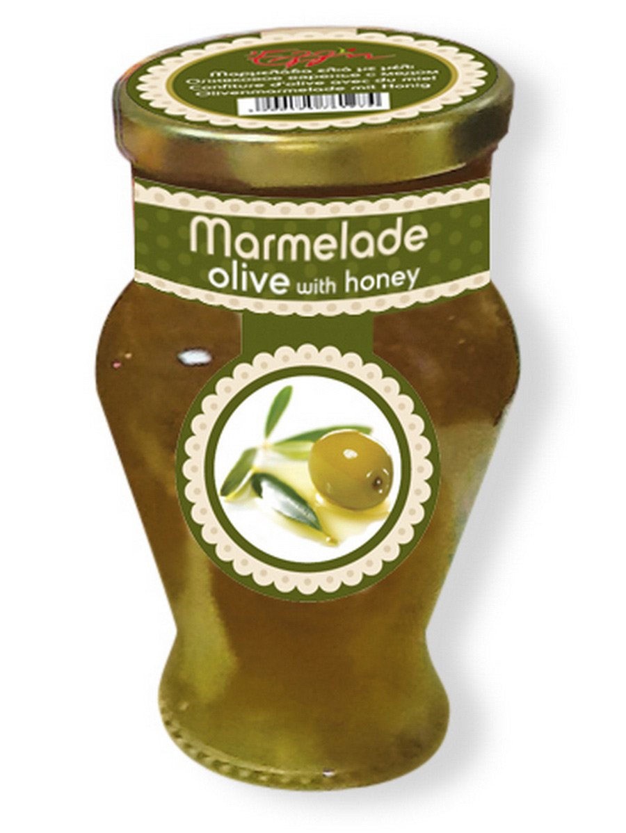 Marmelade olive with honey