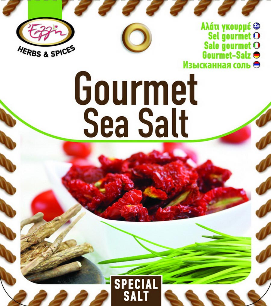 Gourmet sea salt